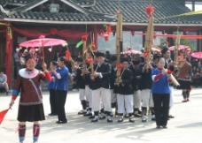 侗族节日迎宾舞 多耶舞图片