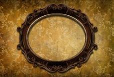 古典花纹相框图片