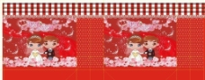 结婚礼盒包装图片