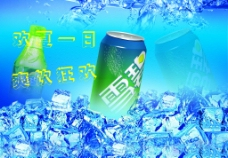 雪碧饮料图片