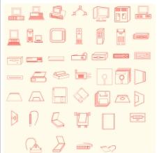 電腦圖標圖片